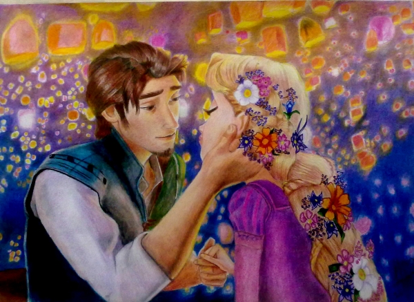 Rapunzel par Sahar